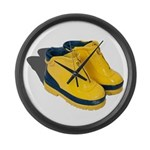 Rubber Boots Large Wall Clock