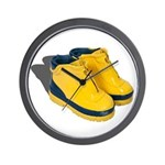 Rubber Boots Wall Clock