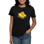 Rubber Boots Women's Dark T-Shirt