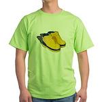 Rubber Boots Green T-Shirt