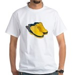 Rubber Boots White T-Shirt