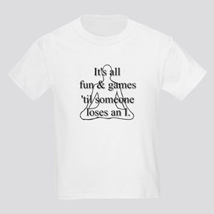 It's all fun & games... Kids T-Shirt