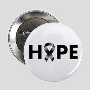 "Black Ribbon Hope 2.25"" Button"