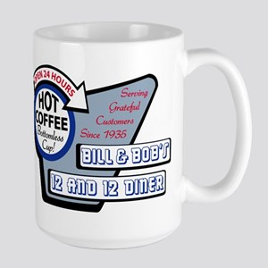 Bill  Bobs 12 and 12 Diner Mugs