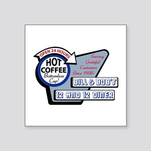 Bill Bobs 12 And 12 Diner Sticker