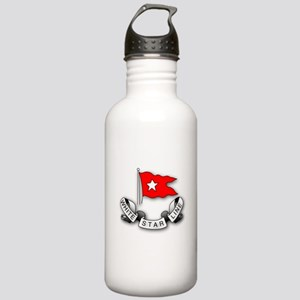 White Star Vlogger Logo Stainless Water Bottle 1.0