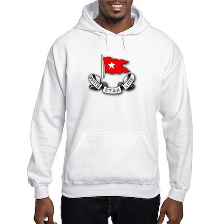 White Star Vlogger Logo Hooded Sweatshirt