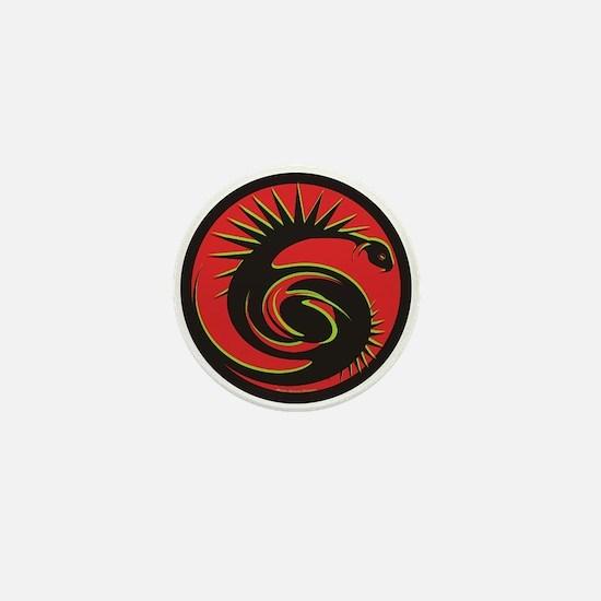 Mystic Viper Mini Button