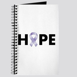 Lavender/Periwinkle Ribbon Hope Journal