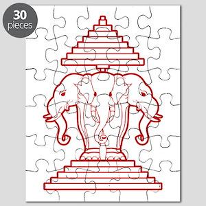 Three Headed Elephant Puzzle