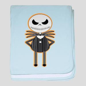 jack the skelleton baby blanket
