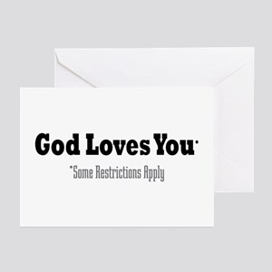 God Loves You Greeting Cards (Pk of 10)