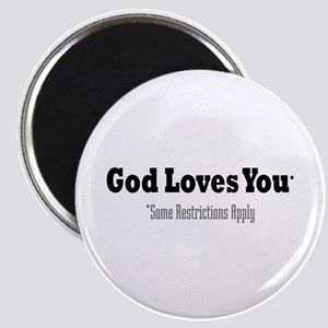 God Loves You Magnet