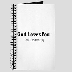 God Loves You Journal