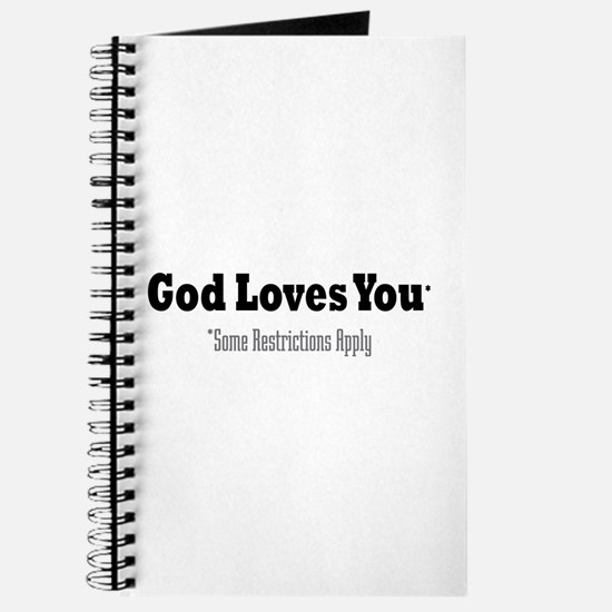 God Loves You Journal