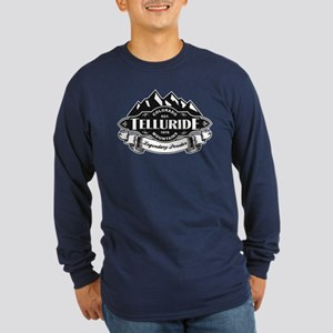 Telluride Mountain Emblem Long Sleeve Dark T-Shirt