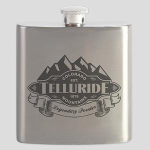 Telluride Mountain Emblem Flask