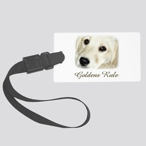 Goldens Rule Large Luggage Tag