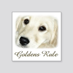 "Goldens Rule Square Sticker 3"" x 3"""