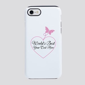 Personalized Worlds Best iPhone 7 Tough Case