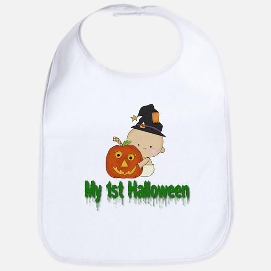 My 1st Halloween Bib