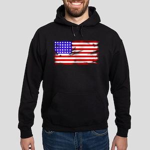 1864 US Flag Hoodie (dark)