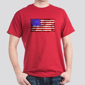 1864 US Flag Dark T-Shirt