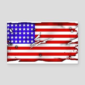 1864 US Flag Rectangle Car Magnet