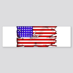 1864 US Flag Sticker (Bumper)