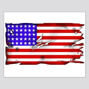 1864 US Flag Small Poster