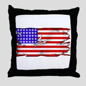 1864 US Flag Throw Pillow