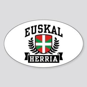 Euskal Herria Sticker (Oval)