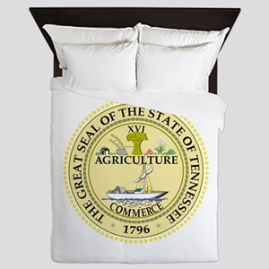 Tennessee State Seal Queen Duvet