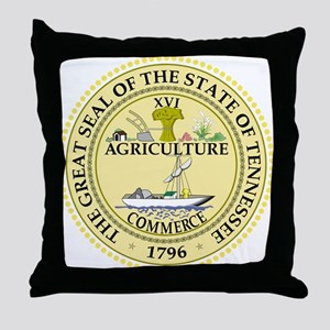 Tennessee State Seal Throw Pillow