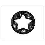 Distressed Vintage Star 1 Small Poster