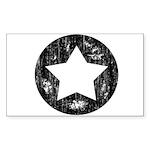 Distressed Vintage Star 1 Sticker (Rectangle 50 pk
