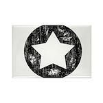 Distressed Vintage Star 1 Rectangle Magnet (100 pa