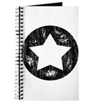 Distressed Vintage Star 1 Journal
