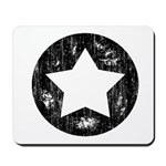 Distressed Vintage Star 1 Mousepad