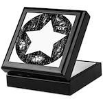 Distressed Vintage Star 1 Keepsake Box