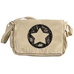 Distressed Vintage Star 1 Messenger Bag