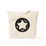 Distressed Vintage Star 1 Tote Bag