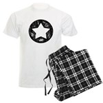 Distressed Vintage Star 1 Men's Light Pajamas