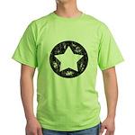 Distressed Vintage Star 1 Green T-Shirt