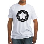 Distressed Vintage Star 1 Fitted T-Shirt