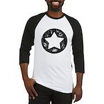 Distressed Vintage Star 1 Baseball Jersey