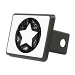Distressed Vintage Star 1 Rectangular Hitch Cover