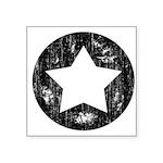 Distressed Vintage Star 1 Square Sticker 3