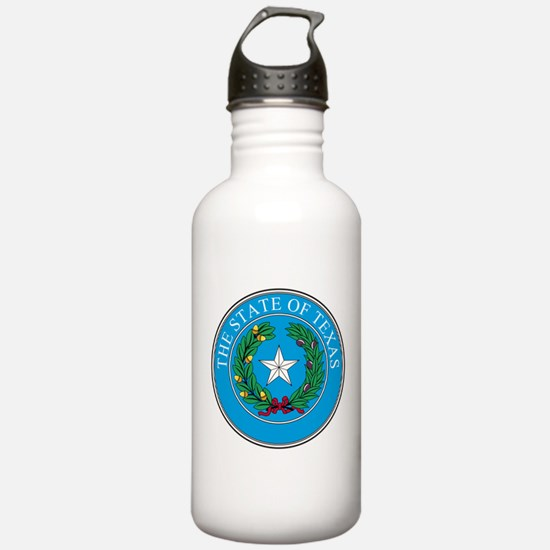 Texas State Seal Water Bottle