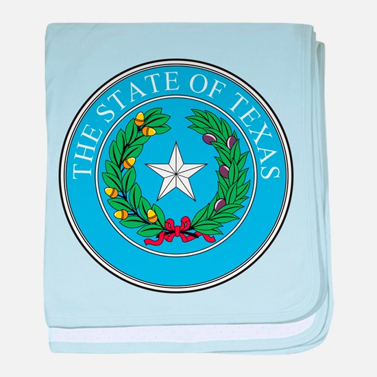 Texas State Seal baby blanket